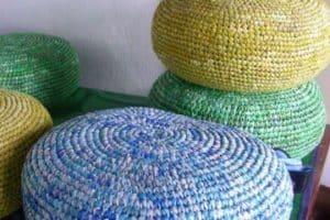 Ideas de almohadones reciclados rellenos paso a paso