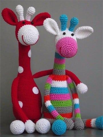 animales a crochet paso a paso con diseno