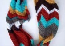 Como hacer tus propias bufandas de gancho modernas