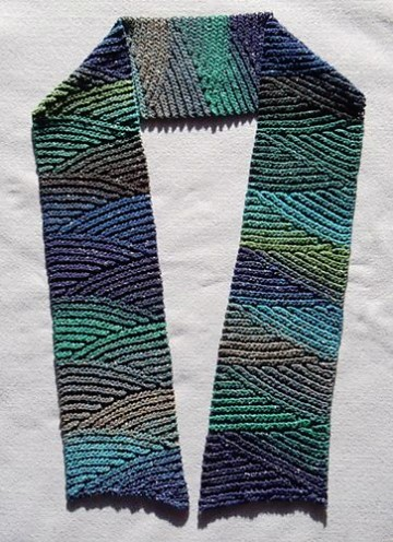 bufandas de gancho modernas moda