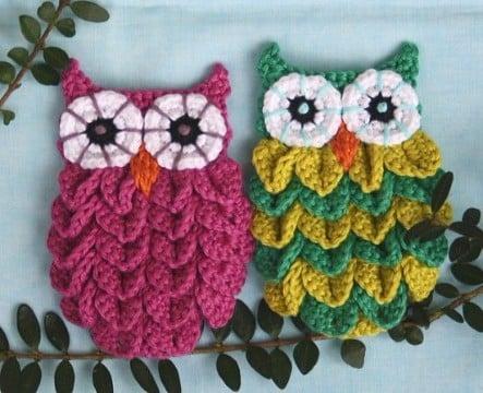 buhos tejidos a crochet paso a paso patrones