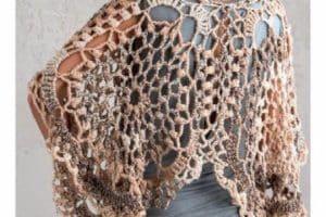 Graficos de modelos de capas tejidas en crochet