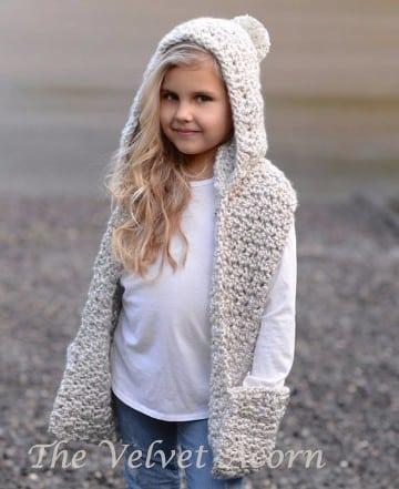 capas tejidas en crochet para bebes