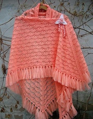 capas tejidas en crochet paso a paso