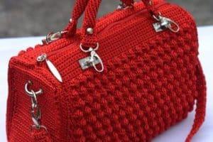 Modelos de bolsos y carteras tejidas a gancho gratis
