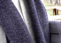 Modelos de chalinas tejidas a palillo para hombres
