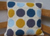 Cojines a crochet paso a paso de cuadros y mosaicos