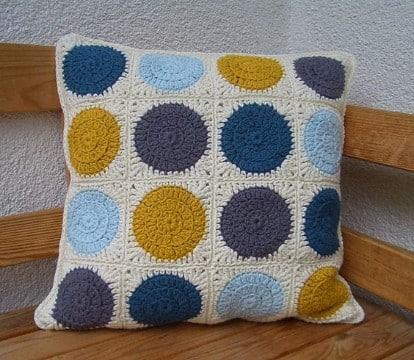 cojines a crochet paso a paso cuadrados
