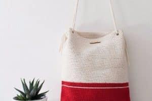 Como hacer bolsas de tejido mujer paso a paso
