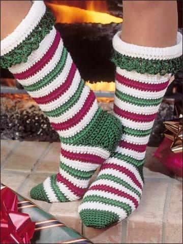 como hacer calcetines de punto paso a paso