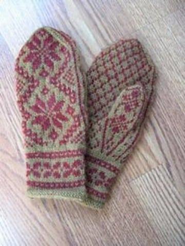 como hacer mitones de lana sin dedos