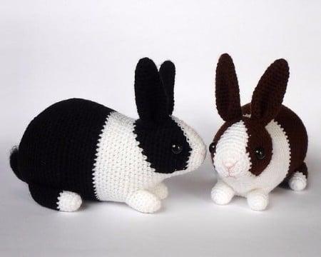 Amigurumis Conejos Paso A Paso : Como hacer conejo amigurumi patrón y técnica tejidos a crochet