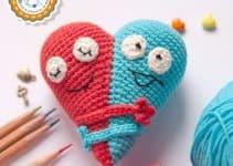Corazon a crochet patron pasos fáciles a seguir