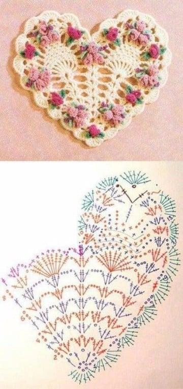 flores a crochet con patrones gratis