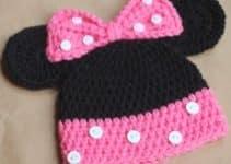 Como hacer gorros tejidos de gancho para bebe
