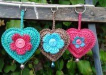 Como hacer llaveros a crochet paso a paso patrones