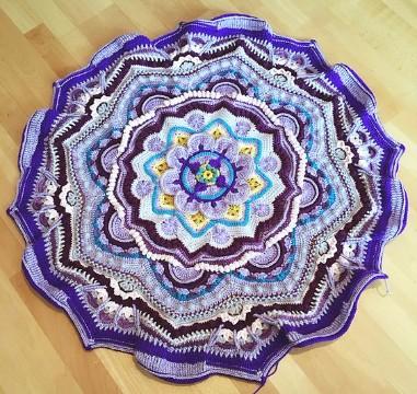 mandalas tejidas al crochet paso a paso