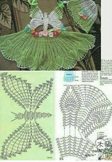 mariposas tejidas al crochet patrones
