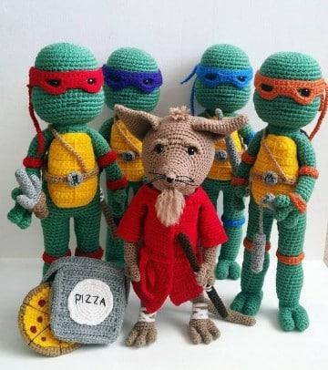 muñecos a crochet paso a paso animalitos