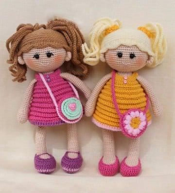muñecos a crochet paso a paso hechos