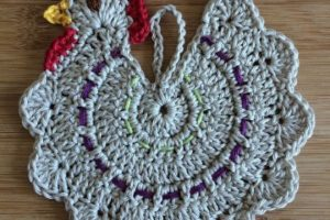 Hermosos pañitos a crochet paso a paso para usar con manteles