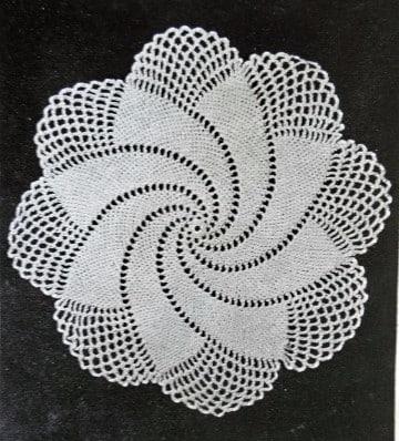pañitos a crochet paso a paso tejidos