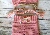 Patrones de pantalones tejidos a crochet para dama y bebe