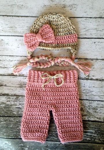 pantalones tejidos a crochet bebes paso a paso