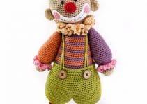 Los mejores payasos tejidos a crochet para bebes y niños
