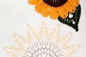 Como hacer rosas tejidas a crochet paso a paso con patrones