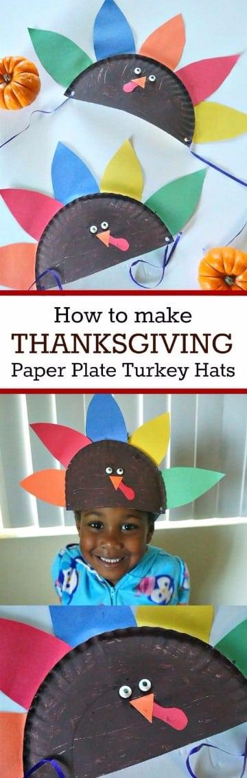 sombreros creativos para niños cómo hacer