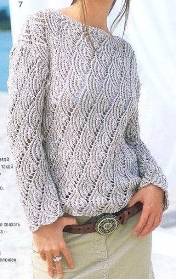 sweaters tejidos a mano invierno