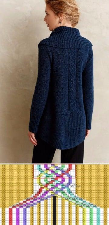 sweaters tejidos a mano para mujer