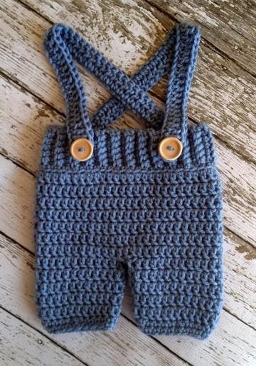 trajes de crochet para bebes ganchillo
