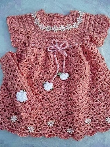 trajes de crochet para bebes paso a paso