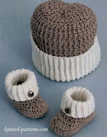 zapatitos a crochet patrones de bebe