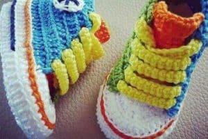 Varias ideas de zapatitos a crochet patrones para bebe