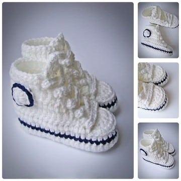 zapatitos para nina tejidos a crochet bebe varon