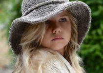 Imágenes de hermosos sombreros tejidos a gancho para dama