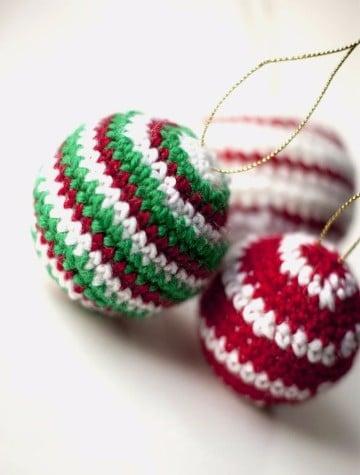 adornos navideños tejidos a crochet con patrones