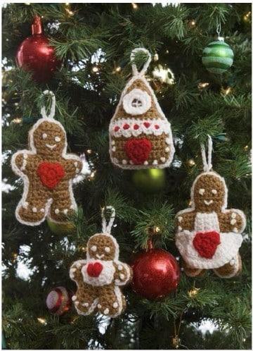 adornos navideños tejidos a crochet paso a paso
