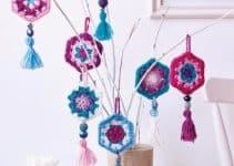 Como hacer adornos tejidos a crochet fácil y rápido