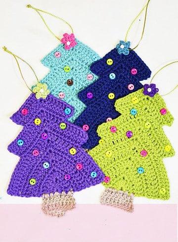 arbol de navidad a crochet paso a paso