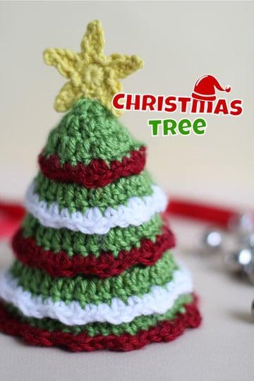 arbol de navidad a crochet patron