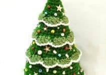 Como hacer un arbol de navidad a crochet pasos a seguir