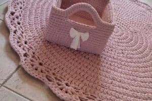 Como hacer carpetas tejidas al crochet paso a paso