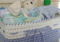 Crea cestas de trapillo rectangulares para el hogar