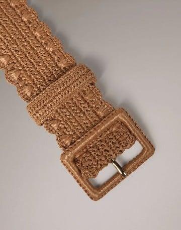 cinturones tejidos a crochet patrones