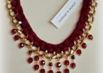 Como hacer tus propios collares tejidos con cadena de moda