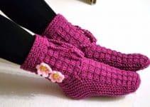 Como hacer calcetines de lana a crochet patrones fáciles